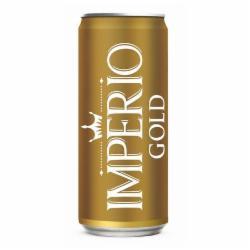 CERVEJA IMPERIO 269ML LT GOLD PURO MALTE