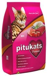 Alimento para Gatos 500g Pitukats Mix