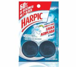 TABLETE HARPIC CX ACOP 50G FRESH 50% NO 2º