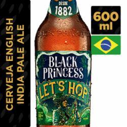 CERVEJA BLACK PRINCESS 600ML LETS HOP