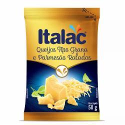 QUEIJO RALADO GRANA ITALAC 50G