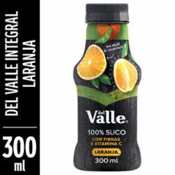 Suco Del Valle 100% 300ml Laranja