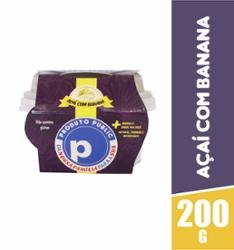 Açaí Public 200g Banana com Granola