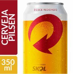 Cerveja Skol Pilsen 350ml Lata