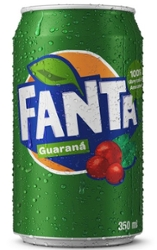 Refrigerante Fanta 350ml Guaraná