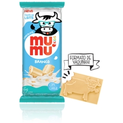Chocolate Mumu Kids 65g Branco