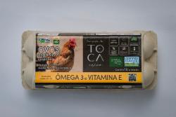 OVOS ORG CAIPIRA FTOCA C/10 OMEGA 3