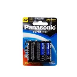 Pilha Panasonic Pequena Aa com  4