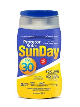 Protetor Solar Sunday FPS30 120ml