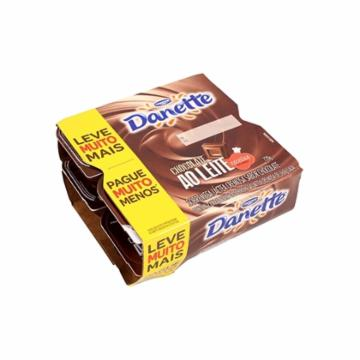 Sobremesa Danette Pack 720g Chocolate