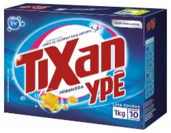 Lava Roupas Pó Tixan 1Kg Primavera