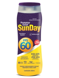 Protetor Solar Sunday FPS60 200ml