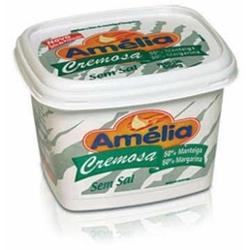 Margarina Amelia 500g com Manteiga sem Sal