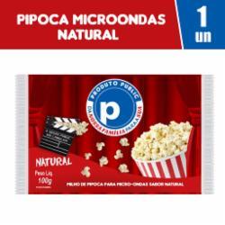 Pipoca Microondas Public 100g Natural