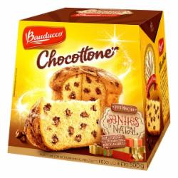 Chocottone Bauducco 500g Gotas Chocolate