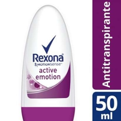 Desodorante Roll On Rexona 50ml Fem Active Emotion