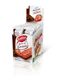 Barra de Cereais Kobber 240g Morango/Chocolate