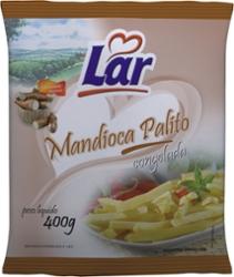 Mandioca Pre-Frita Lar 400g