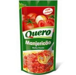 Molho Tomate Quero 340g Manjericao Sachet
