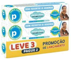 Kit Creme Preventivo de Assaduras Public Baby 45g Leve 3 Pague 2