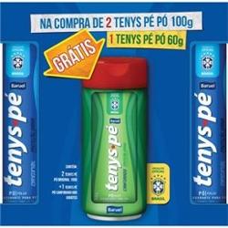 Kit 2 Tenys Pe Po 100g Original + Canforado 60g