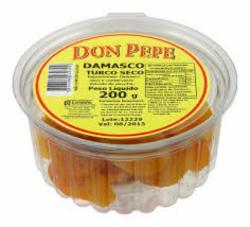 Damasco Seco Doce Don Pepe 200g Pote