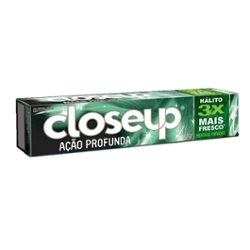 Creme Dental Close-Up 90g Gel Menthol Paradise