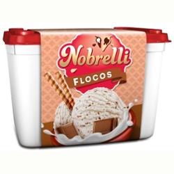Sorvete Nobrelli 2L Flocos