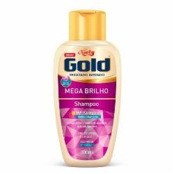 Shampoo Niely Gold 300ml Mega Brilho