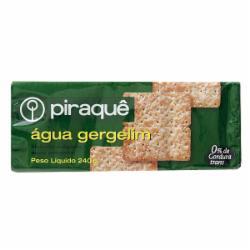 Biscoito Piraque Agua E Gergilim 200g