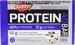 Barra de Proteinas Kobber 60g Cookies Cream