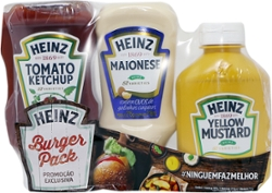 Promo Pack Heinz Ket Mayo Most Fp 867g