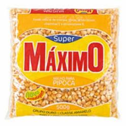 Milho Pipoca Maximo 500g