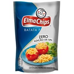 Salg Elma Chips Batata Palha 120g sem  Sal