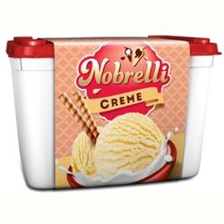 Sorvete Nobrelli 2L Creme