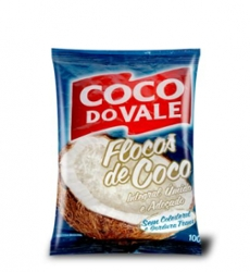 Coco Flocos Coco Do Vale 100g Umido Adocado