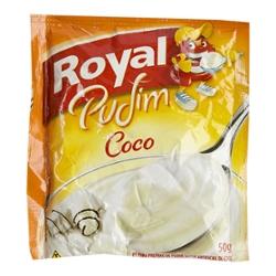Pó Pudim Royal 50g Coco