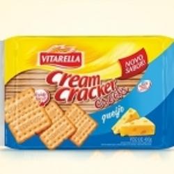 Biscoito Vitarella 400g Cream Cracker Croks Queijo