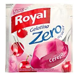 Gelatina Royal Zero 12g Cereja