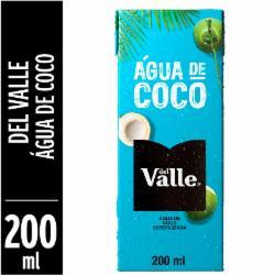 Agua de Coco Del Valle 200ml
