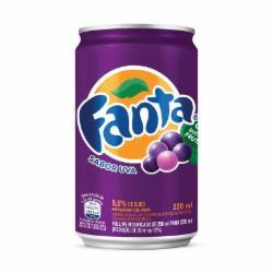 Refrigerante Fanta Lata 220ml Uva