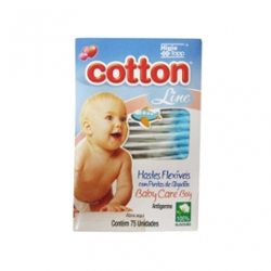 Hastes Flexiveis Cotton Line com 75 Baby Boy
