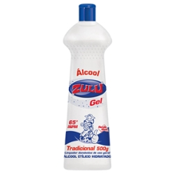 ALCOOL GEL ZULU 500G