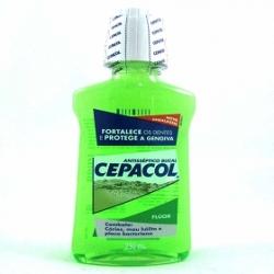 Solucao Bucal Cepacol 250ml Fluor