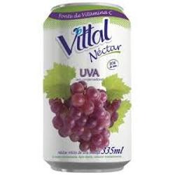 nectar vittal 335ml lata uva