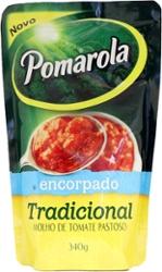 Molho Tomate Pomarola Encorpado 340g Sachet