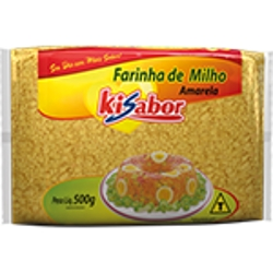 Farinha Milho Amarela Ki Sabor 500g