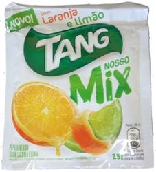 Refresco em Pó Tang 25g Mix Laranja E Limão