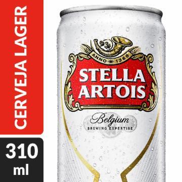 Cerveja Stella Artois 310ml Lata