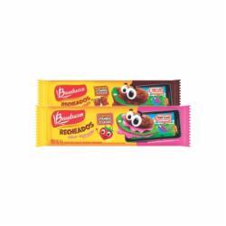 Biscoito Bauducco Recheado 65g Duplo Chocolate